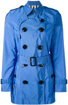 Burberry cropped trench coat - women - Nylon/Polyamide/Polyester - 8