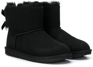 Ugg Kids TEEN Mini Bailey Bow II boots