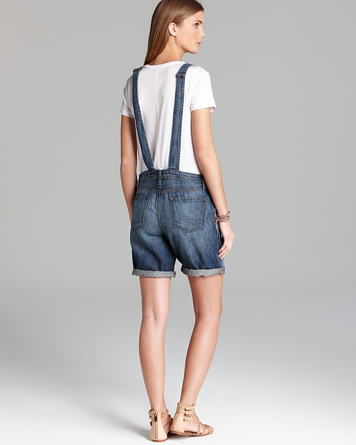 J Brand Overalls - Short Coverall 5065 in Rivington