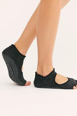 Toesox Bella Merci Ruffle Grip Socks
