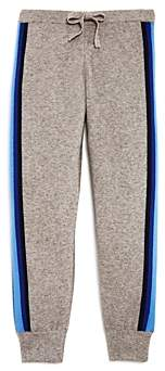 Aqua Madeleine Thompson x Girls' Track Stripe Jogger Pants, Big Kid - 100% Exclusive
