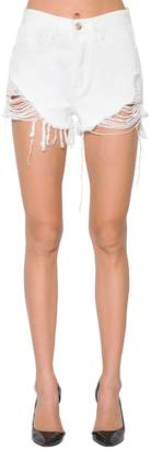 3x1 Carter Distressed Denim Shorts