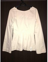 Weekday Ecru Cotton Top for Women