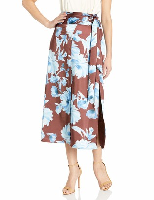C/Meo Women's in Bloom Midi Slip Skirt