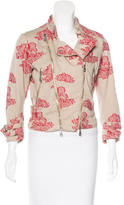 McQ by Alexander McQueen Embroidered Moto Jacket