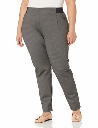 Chaps Women's Plus Size Skinny fit Ponte Legging