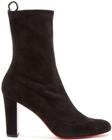 Christian Louboutin Gena suede ankle boots