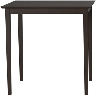Gracie Oaks Skiatook Counter Height Pub Solid Wood Dining Table