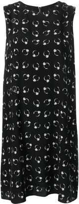 Moschino flared short dress