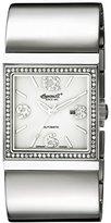 Ingersoll Women's IN7206SL Carthage Analog Display Automatic Self Wind Silver Watch