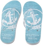 Lillian Rose Bride's Captain Flip Flops
