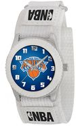 Game Time Rookie Series New York Knicks Silver Tone Watch - NBA-ROW-NY - Kids