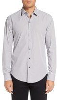 BOSS Men's 'Robbie' Sharp Fit Graphic Print Sport Shirt