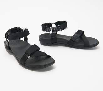 Vionic Adjustable Leather Sandals - Candace