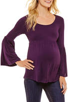 PLANET MOTHERHOOD Planet Motherhood Long Sleeve Babydoll Top