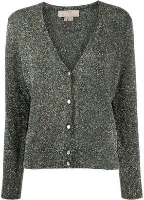 A.P.C. Metallic Knit Cardigan