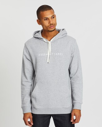 Assembly Label Hooded Fleece Sweater
