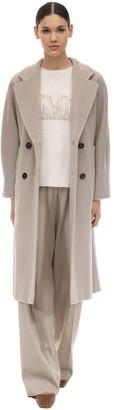 Max Mara Madame Long Wool & Cashmere Coat