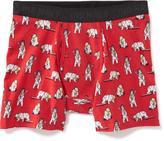 Old Navy Printed Boxer-Brief Trunks for Men
