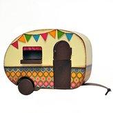 Studio M Miniature Fairy Garden Camper Trailer