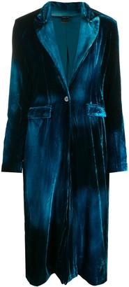 Avant Toi Tailored Velvet Coat