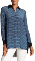 Robert Graham Chiara Print Silk Shirt