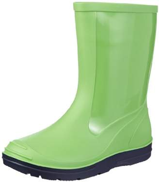 Beck Basic 486, Girls Slip Boot, Green (apfel 09), 31 EU