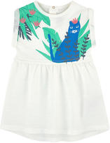 Little Marc Jacobs Graphic slub jersey dress