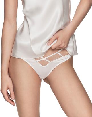 Kiki de Montparnasse Cage High-Waist Bikini Briefs