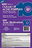 Rugby BENZOYL PEROXIDE ACNE MEDICATION 1.5 oz per Tube (4 pack)