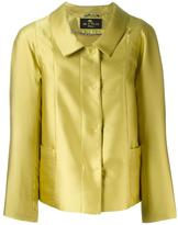 Etro buttoned jacket - women - Silk/Polyester/Viscose - 40