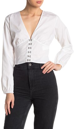 Cotton On Hook-And-Eye Blouse