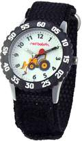 Red Balloon Kids' W000330 Construction Site Stainless Steel Time Teacher Watch