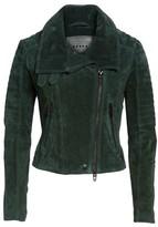 Blank NYC Women's Blanknyc Crop Suede Moto Jacket