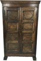 One Kings Lane Vintage 18th-C. English Country Pine Cupboard