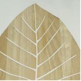 Soundslike HOME Mangowood Botanical Tropical Leaf Carved Artwork