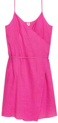 Arket Linen Wrap Dress