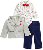 Gray Blazer Set - Infant
