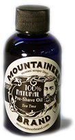 Mountaineer Brand Natural Pre-shave Oil - 2 Oz