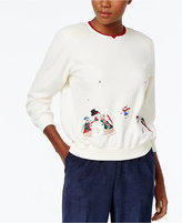 Alfred Dunner Holiday Graphic Sweater
