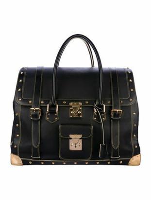 Louis Vuitton Suhali Le Extravagant Travel Bag Black