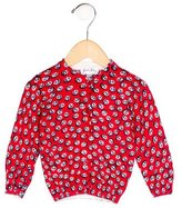 Rachel Riley Girls' Intarsia Anchor Cardigan