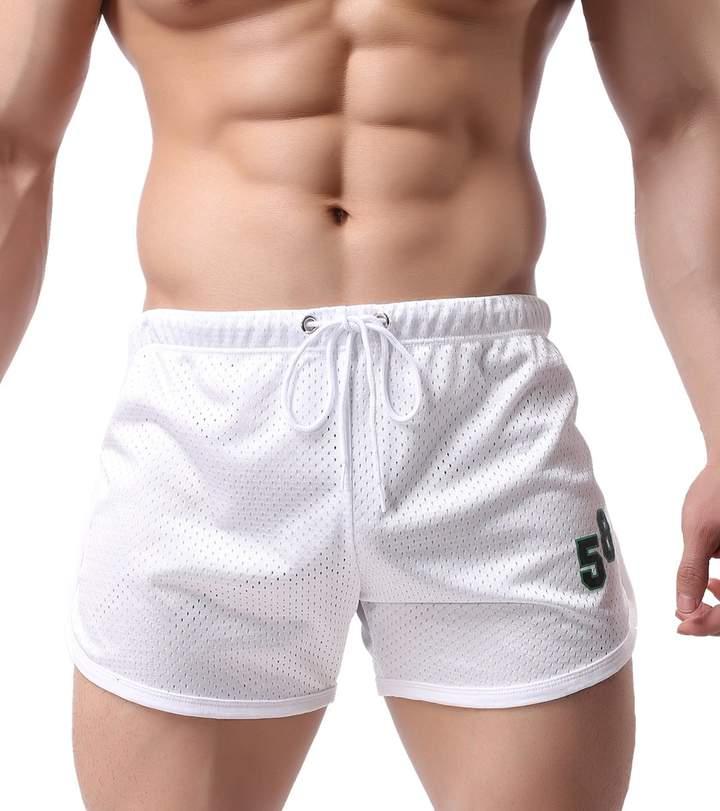 BRAVE PERSON Men's arrow shorts mesh running breathable leisure pants beach shorts 58