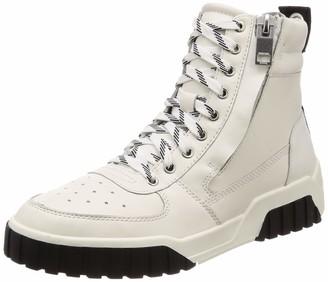 Diesel Men's LE S-RUA MC Leather Sneaker