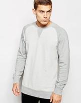 Junk De Luxe – Sweatshirt im nach Innen gekehrten Design