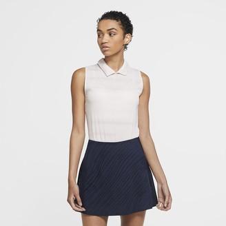Nike Women's Sleeveless Golf Polo Dri-FIT Ace