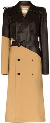 Bottega Veneta Panelled Trench Coat