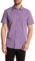 Ben Sherman Mini-Check Short Sleeve Slim Fit Shirt