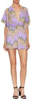 T-Bags LosAngeles Printed Kimono Sleeve Romper