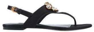 Versace Toe strap sandal